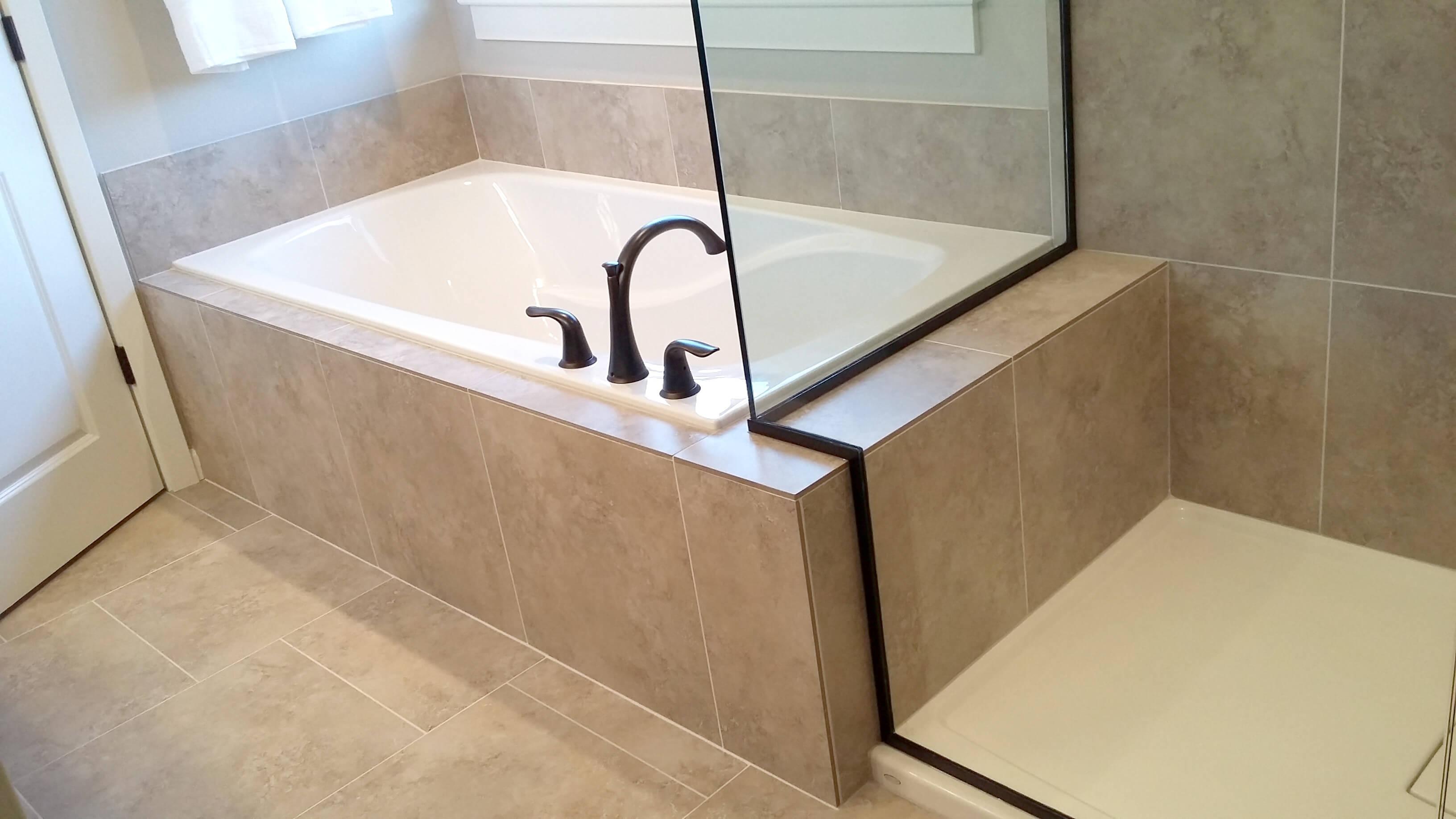 Tubs Tile Surrounding - YZPN Master Construction